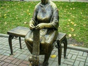Памятник вязальщицы. Ярмарка Мастеров - ручная работа, handmade.