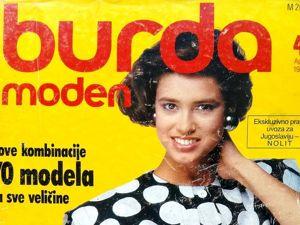 Burda Moden № 4/1985. Фото моделей. Ярмарка Мастеров - ручная работа, handmade.