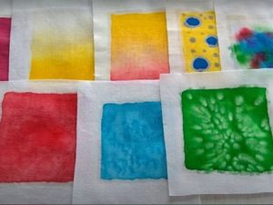 Основные приемы росписи в технике «холодный батик». Ярмарка Мастеров - ручная работа, handmade.