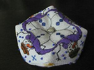Шьем бискорню с милыми снеговичками. Ярмарка Мастеров - ручная работа, handmade.