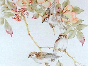 Минус тридцать. Китайская живопись и графика тушью. Ярмарка Мастеров - ручная работа, handmade.