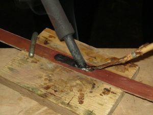 Лужение как процесс. Простой самодельный инструмент для него. Ярмарка Мастеров - ручная работа, handmade.