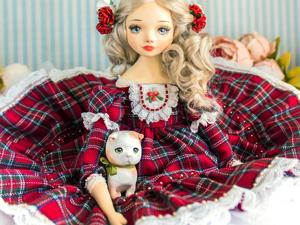 Белль авторская кукла, интерьерная  кукла подарок любимой. Ярмарка Мастеров - ручная работа, handmade.