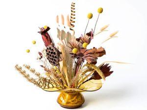 История возникновения сухоцветов. Ярмарка Мастеров - ручная работа, handmade.