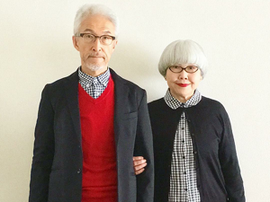 Absolute Harmony: a 70-year-old Couple Combines Their Clothes and Creates a Single Look. Livemaster - handmade