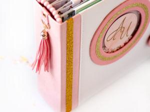 Фото обзор свадебного фотоальбома Яблоневый цвет. Ярмарка Мастеров - ручная работа, handmade.