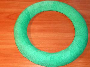Делаем заготовку для веночка с нуля из бросовых материалов. Ярмарка Мастеров - ручная работа, handmade.