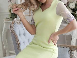Видео-ролик, платье  «Зеленый чай». Ярмарка Мастеров - ручная работа, handmade.