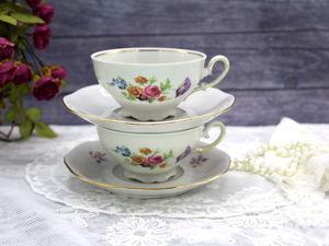 Дополнительные фотографии чайной пары. Ярмарка Мастеров - ручная работа, handmade.
