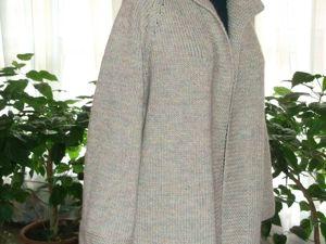 Скидка на вязаное пальто 40%. Ярмарка Мастеров - ручная работа, handmade.