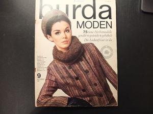 Burda moden 1965/9 бурда моден. Ярмарка Мастеров - ручная работа, handmade.