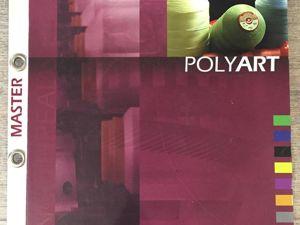 Карта цветов ниток для кожи Polyart. Ярмарка Мастеров - ручная работа, handmade.