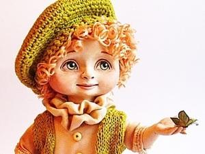 Мастер-класс по созданию куклы ЛЕТИ! Этап четвертый. Изготовление одежды.. Ярмарка Мастеров - ручная работа, handmade.