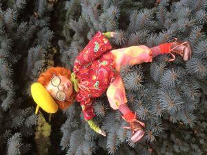 Приглашаю на курс  « Подвижная кукла из папье маше». Ярмарка Мастеров - ручная работа, handmade.