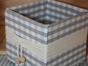 Мастерим уютную коробочку для домашних нужностей и ненужностей. Ярмарка Мастеров - ручная работа, handmade.