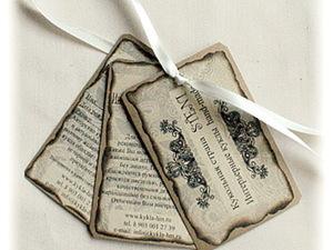 """Упаковка в стиле """"hand made"""" ч.1. Ярмарка Мастеров - ручная работа, handmade."""
