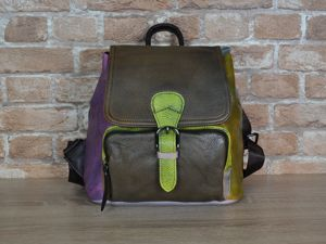 Готовый кожаный рюкзак со скидкой срочно ищет хозяйку!. Ярмарка Мастеров - ручная работа, handmade.