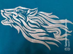 Мастер-класс: рисунок на футболке. Ярмарка Мастеров - ручная работа, handmade.