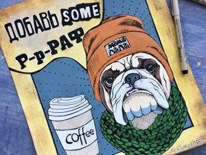 Мои иллюстрации для кафе. Ярмарка Мастеров - ручная работа, handmade.
