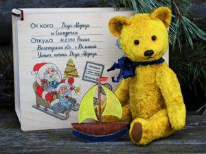Подарок от Деда Мороза и Снегурочки. Ярмарка Мастеров - ручная работа, handmade.