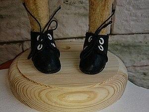 Делаем обувь для мишки или куклы своими руками. Ярмарка Мастеров - ручная работа, handmade.