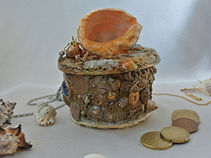 Идея декорирования копилки. Ярмарка Мастеров - ручная работа, handmade.