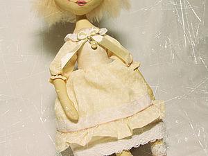 Как я шила куклу. Ярмарка Мастеров - ручная работа, handmade.