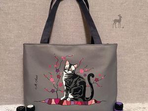 «Кошка Матильда»: готовая работа. Ярмарка Мастеров - ручная работа, handmade.