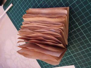 Легкий способ состаривания бумаги для изготовления записной книжки. Ярмарка Мастеров - ручная работа, handmade.