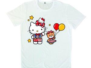 Детская футболка в подарок. Ярмарка Мастеров - ручная работа, handmade.