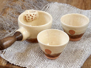 How to Make a Tea Set out of Clay: a Ladle and Two Bowls. Livemaster - handmade