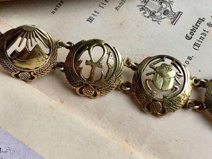 Сегодня вечером ! Анонс. Винтажный браслет в египетском стиле. Ярмарка Мастеров - ручная работа, handmade.