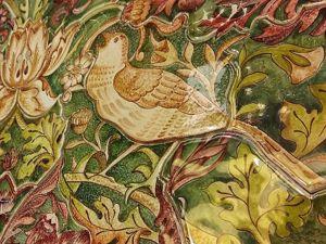 Викторианское керамическое панно. Ярмарка Мастеров - ручная работа, handmade.
