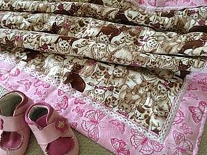 Шьем двустороннее байковое одеялко за 20 минут. Ярмарка Мастеров - ручная работа, handmade.