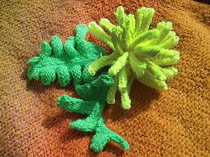 Вязаная хризантема. Ярмарка Мастеров - ручная работа, handmade.