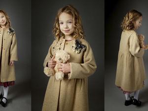 Верхняя одежда детская: Янтарное утро. Ярмарка Мастеров - ручная работа, handmade.