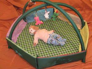 В подарок малышу: делаем развивающий коврик-трансформер. Часть 6. Ярмарка Мастеров - ручная работа, handmade.