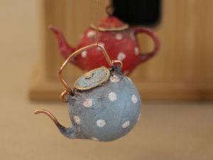 Делаем миниатюрные чайнички своими руками. Ярмарка Мастеров - ручная работа, handmade.