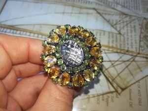 Видео! Перстень  «Маркиза Помпадур». Ярмарка Мастеров - ручная работа, handmade.