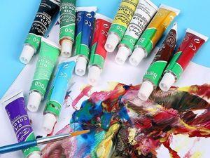 Обзор масляных красок. Ярмарка Мастеров - ручная работа, handmade.