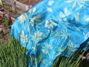 Сегодня в магазине новый шелковый платок. Ярмарка Мастеров - ручная работа, handmade.