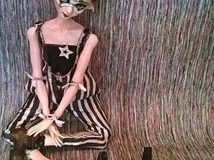 Как создать странного эльфа, или Кукла-марионетка из папье-маше. Ярмарка Мастеров - ручная работа, handmade.