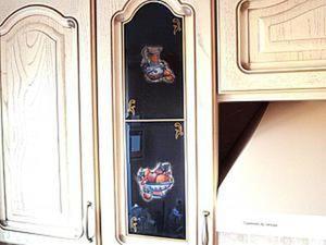 Декорируем кухонные шкафчики. Ярмарка Мастеров - ручная работа, handmade.