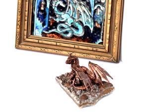 Лунный Странник — интерьерная миниатюра небольшого размера. Ярмарка Мастеров - ручная работа, handmade.