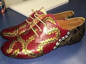 Как расписать туфли самостоятельно. Ярмарка Мастеров - ручная работа, handmade.
