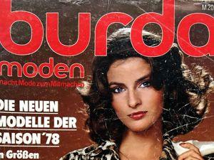 Парад моделей Burda Moden № 1/1978. Ярмарка Мастеров - ручная работа, handmade.