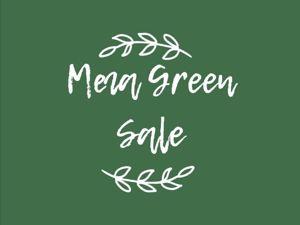 Мега Green Sale. Ярмарка Мастеров - ручная работа, handmade.