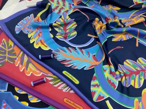 Брендовые платки из 100% шелка. Ярмарка Мастеров - ручная работа, handmade.
