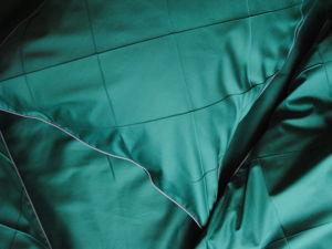 Декор  «Защипы»  на постельном белье. Ярмарка Мастеров - ручная работа, handmade.