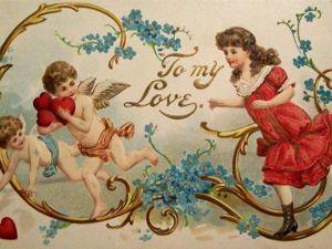 Милые открытки-валентинки: из прошлого — с любовью и юмором. Ярмарка Мастеров - ручная работа, handmade.
